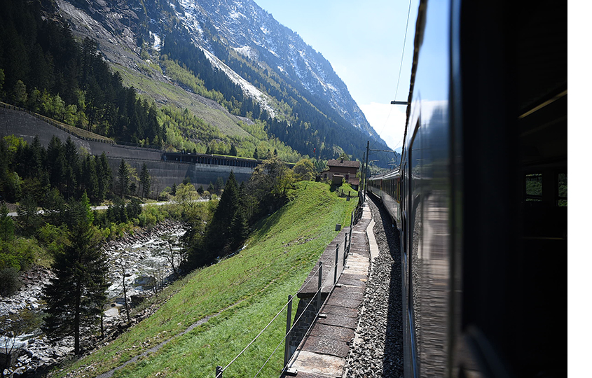 Gotthard Panorama Express Switzerland, кантон Люцерн