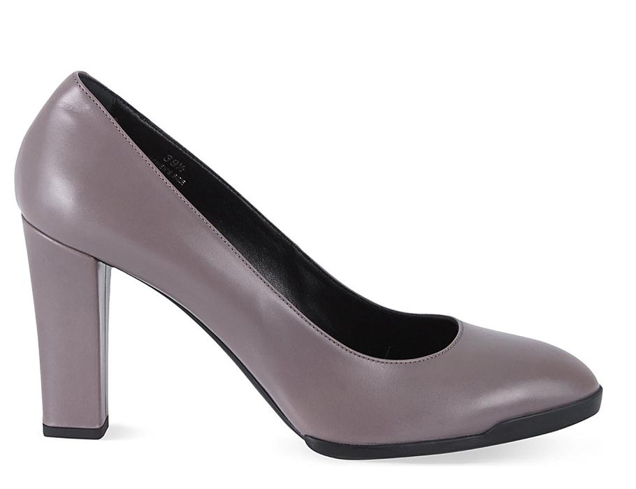Серые туфли наустойчивом каблуке Tods