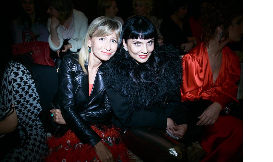 Карина Варивода и Лидия Александрова