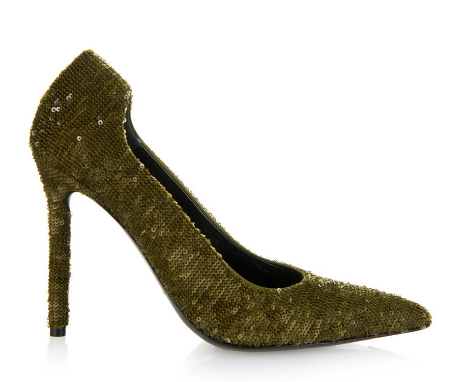 Расшитые пайетками туфли Balenciaga