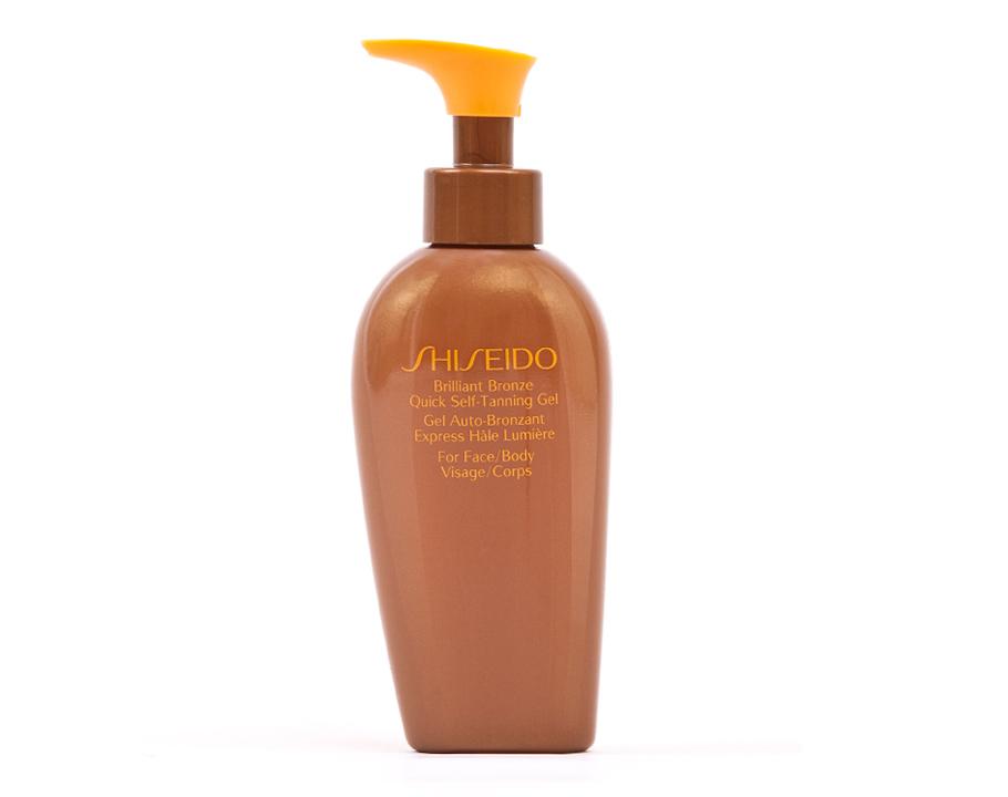 Гель-автозагар для лица итела ускоренного действия Brilliant Bronze Quick Self-Tanning Gel, Shiseido:гель-автозагар делает кожу более мягкой, шелковистой ибронзовой. Подходит для лица итела.