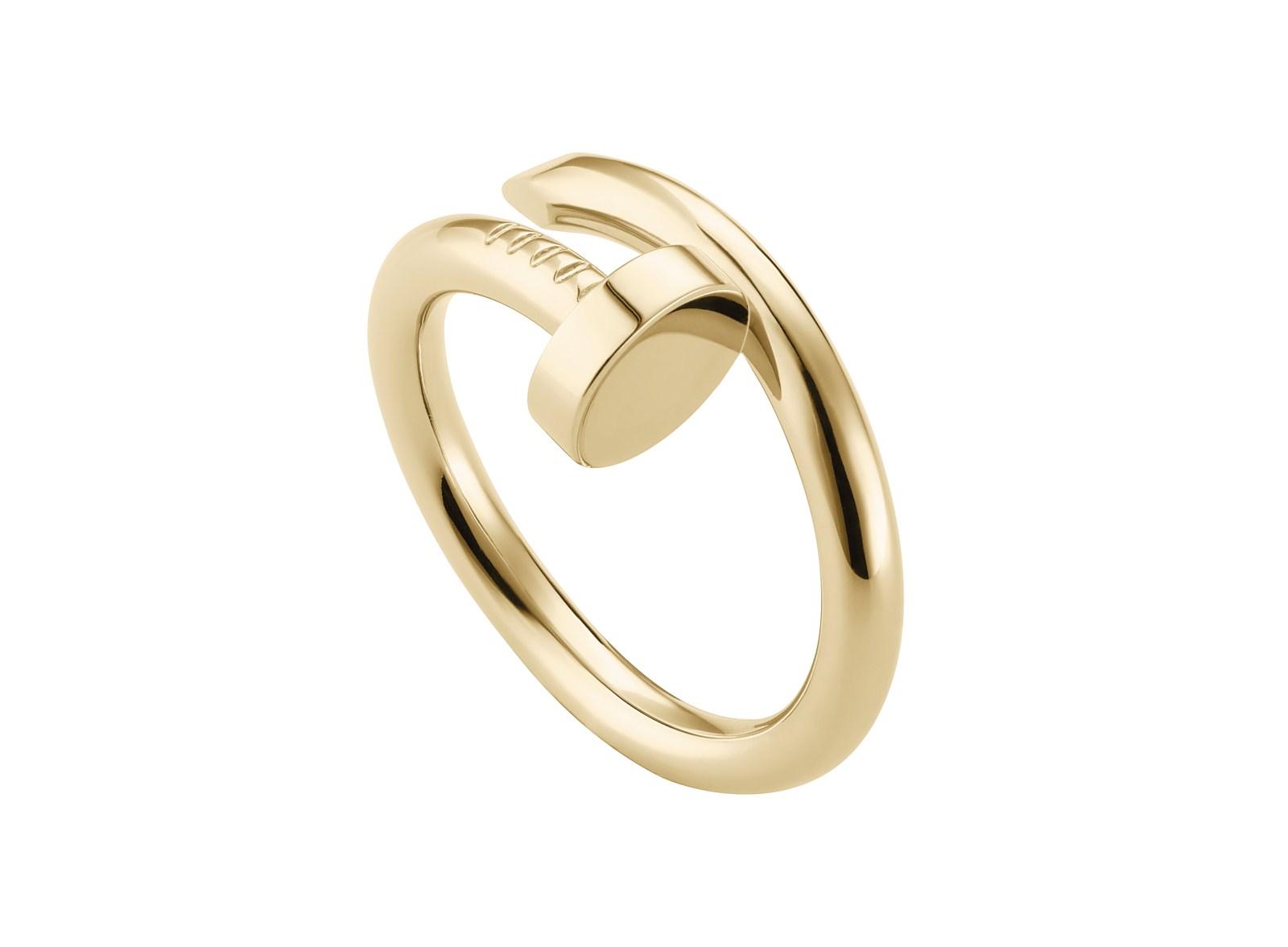 Кольцо из желтого золота Juste un Clou