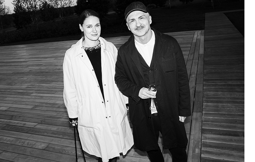 Екатерина Павелко и Анзор Канкулов