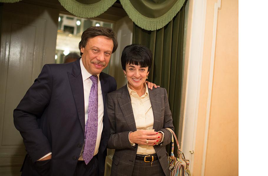Михаил Барщевский с женой Ольгой