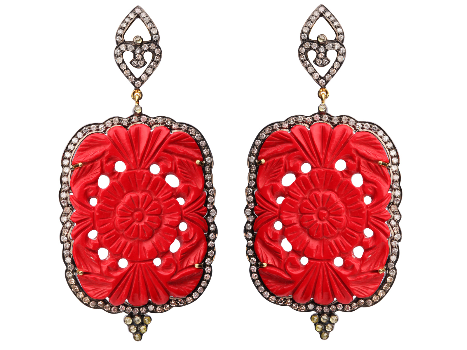 Серьги, Indian Jewels Ювелирный Дом Голконда, ул. Кузнецкий мост, 3/2, тел. (495) 628 2101