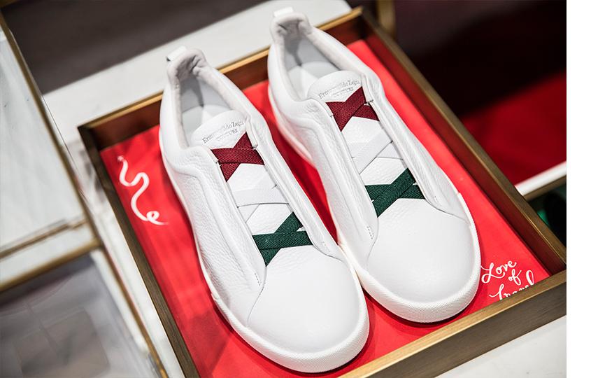 Специальная коллекция обуви Ermenegildo Zegna