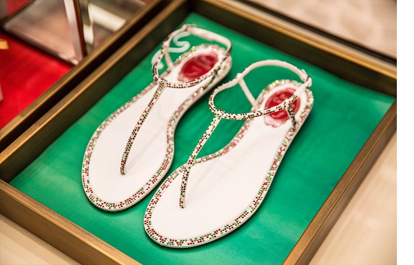 Специальная коллекция обуви Rene Caovilla