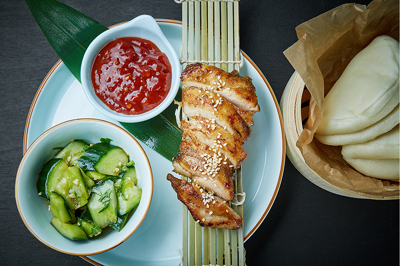 Курица BBQ Гай Юнг