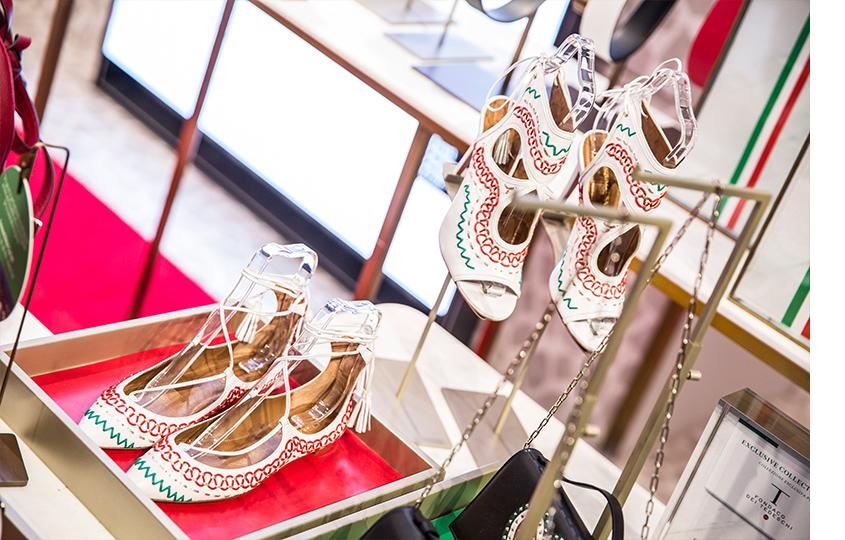 Специальная коллекция обуви Aquazzura