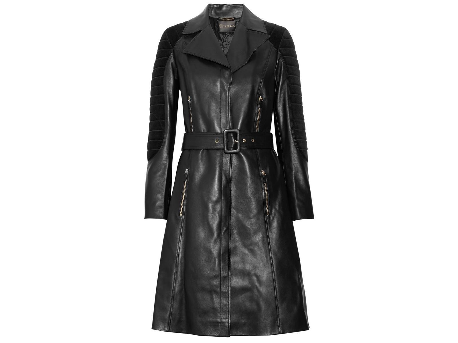 Плащ, Versace  www.net-a-porter.com цена 135 400 руб.