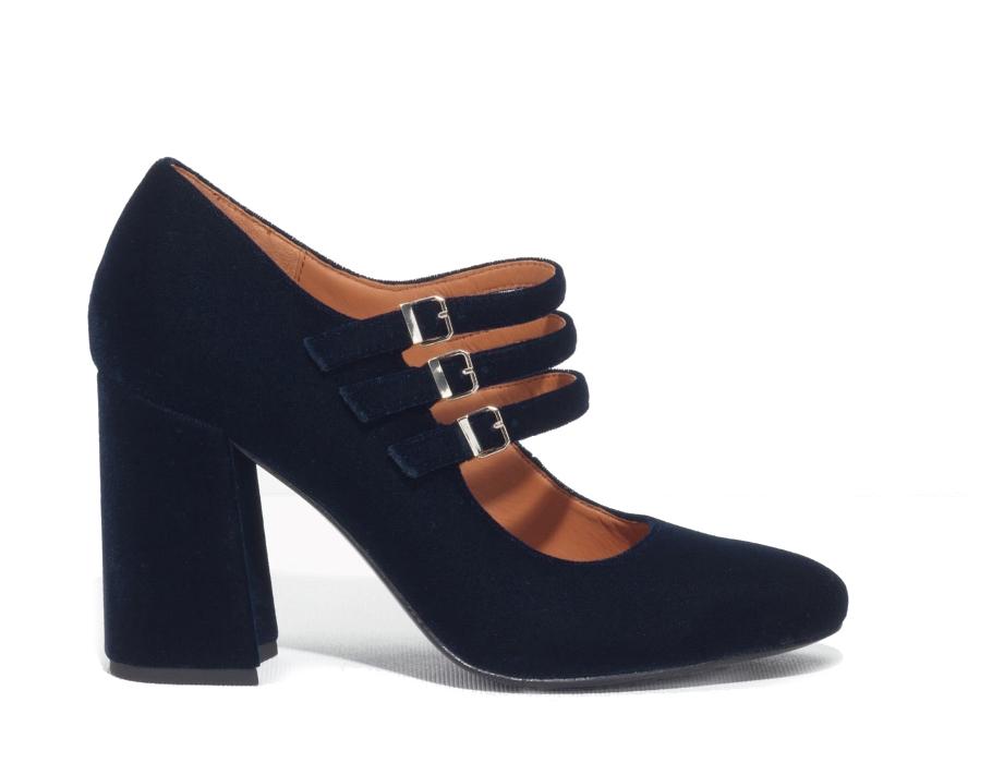 Темно-синие туфли наустойчивом каблуке &Other Stories