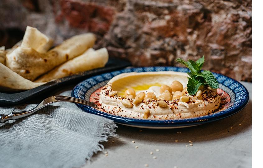 Ливанский хумус