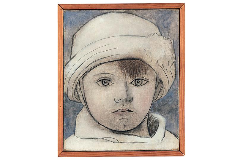 Портрет Поля вбелой шапочке. Париж.14апреля 1923
