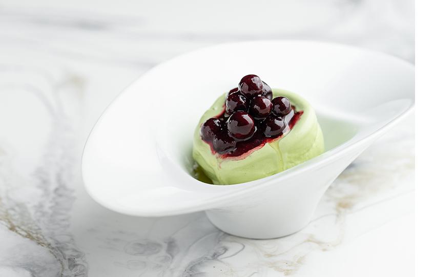 Десерт «Черная смородина»