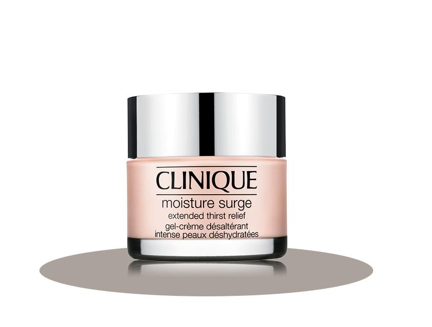 2. Интенсивно увлажняющий крем-гель для обезвоженной кожи Extended Thirst Relief, Clinique