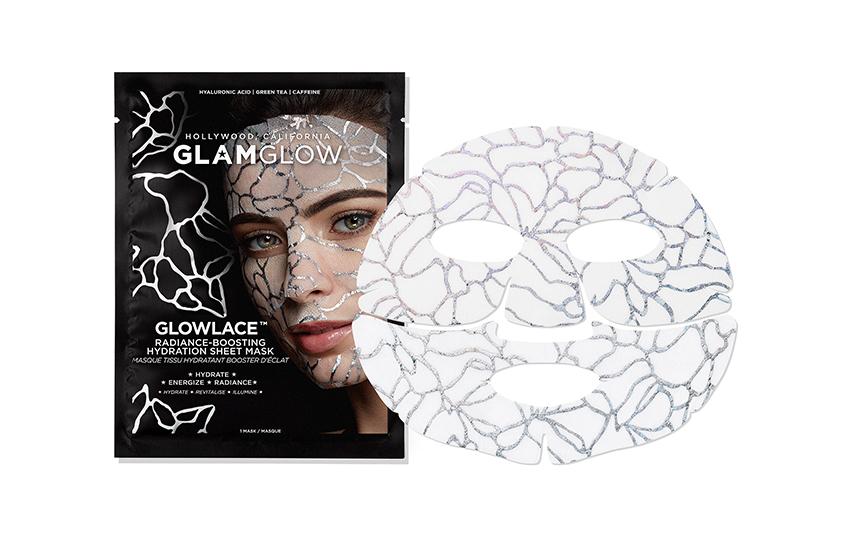 Маска для лица, придающая сияние, Glowlace Radiance-Boosting Hydration, Glam Glow