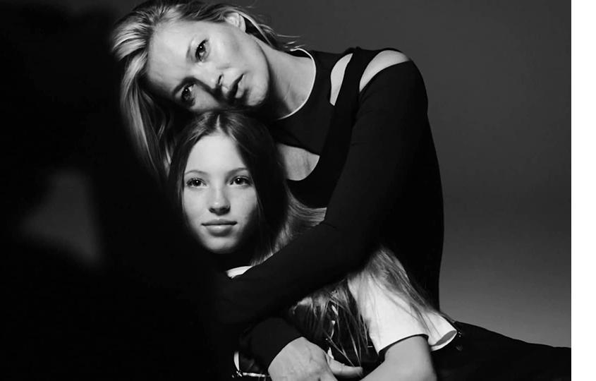Кейт Мосс иЛила Грейс для Vogue Italia