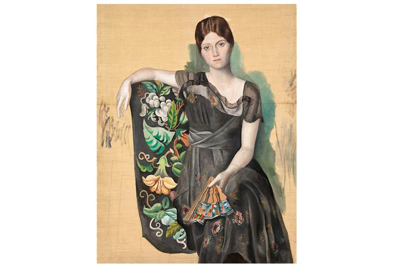Портрет Ольги вкресле. Монруж.1918
