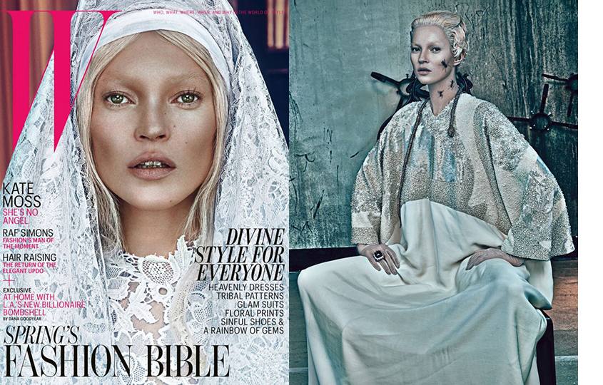 Кейт Мосс для W Magazine