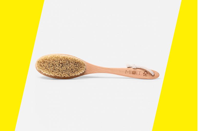 Дренажная щетка для сухого массажа, Mixit