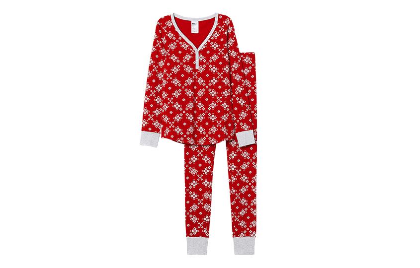 Пижама срождественским принтом, H&M