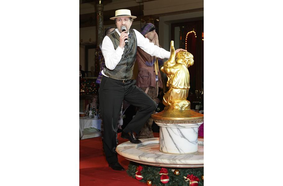Режиссер Павел Лунгин редко появляется на светских мероприятиях, но ради Bosco бала сделал исключение