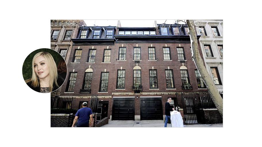 Мадонна ни больше ни меньше меняет облик Нью-Йорка: к купленному на Мэдисон Авеню дому она потребовала пристроить  дополнительный этаж!