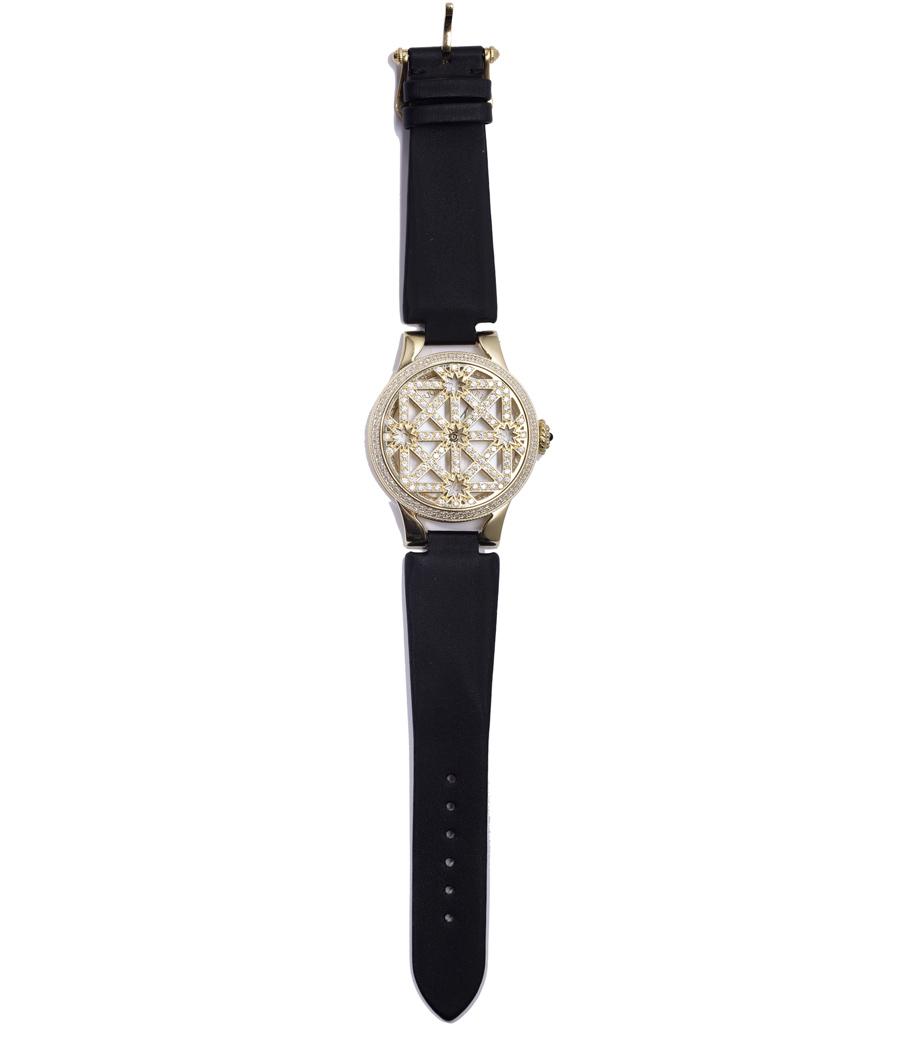 Часы из желтого золота и бриллиантов, Carrera y Carrera