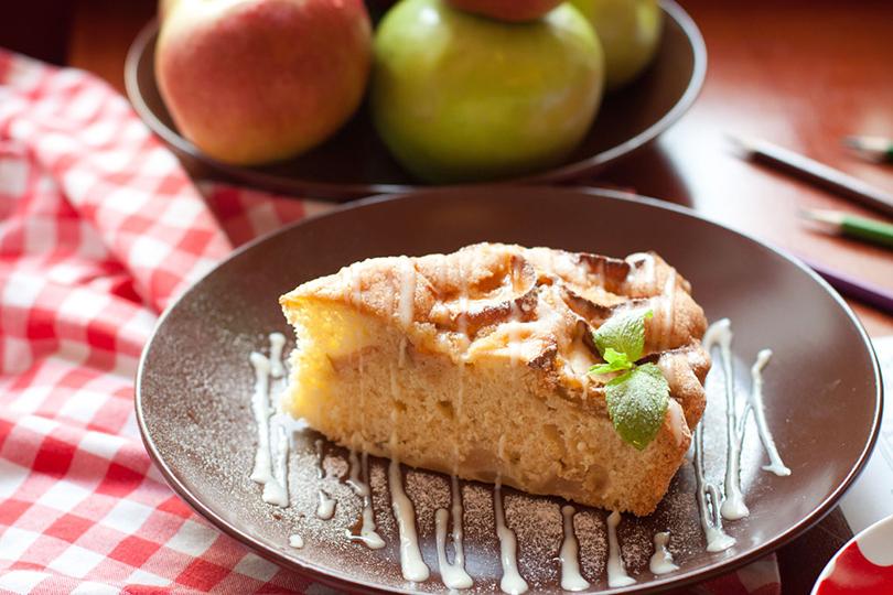 сочный яблочный пирог рецепт с фото должен лучше использовать