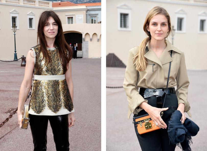 Актриса и певица Шарлотта Генсбур, арт-директор столь любимого модницами бренда Repossi Гайя Репосси