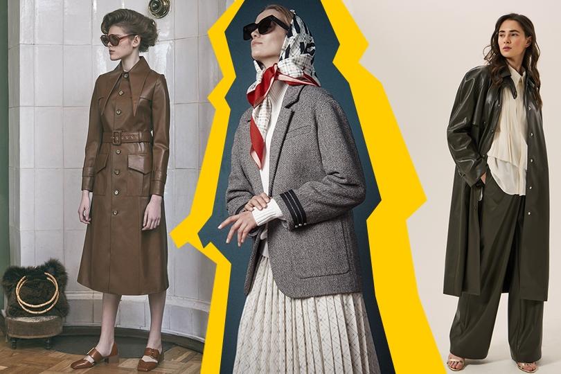 Мужские костюмы, брюки «палаццо» и животный принт: российские дизайнеры советуют, что купить к новому модному сезону. Часть 1
