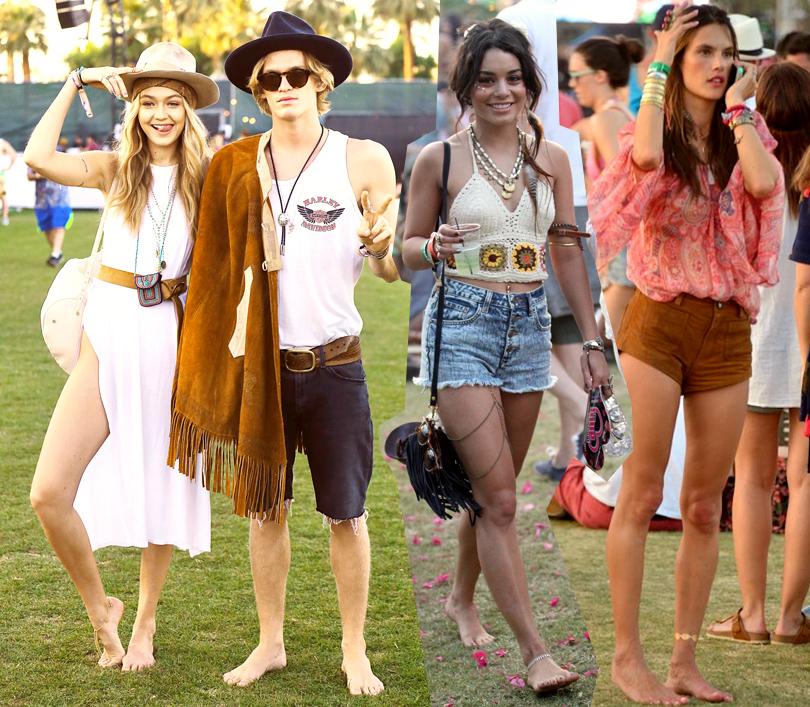 Style Crush: пляжные «сандалии» без подошвы. Джиджи Хадид иКоди Симпсон, Ванесса Хаджес, Алессандра Амбросио