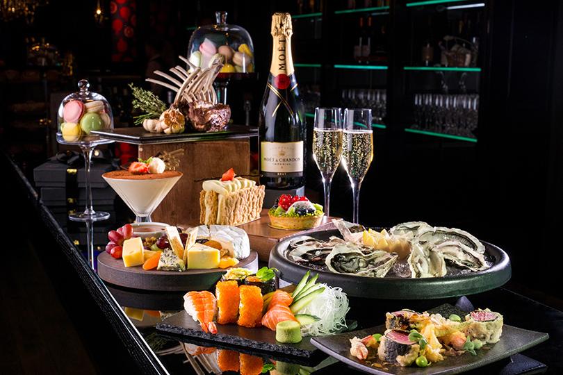 Новый год в отелях Москвы: «Ритц-Карлтон», Café Russe