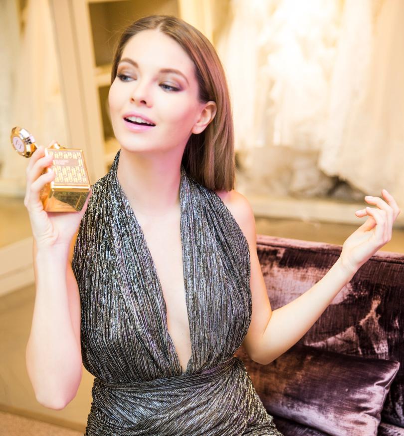 Актриса Наталья Бардо подбирает ароматы под настроение