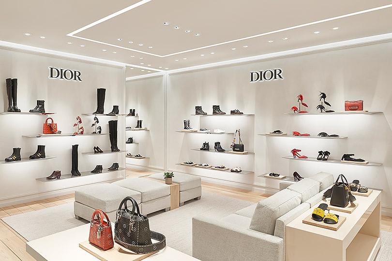 Светская Москва наоткрытии трех корнеров Dior вЦУМе
