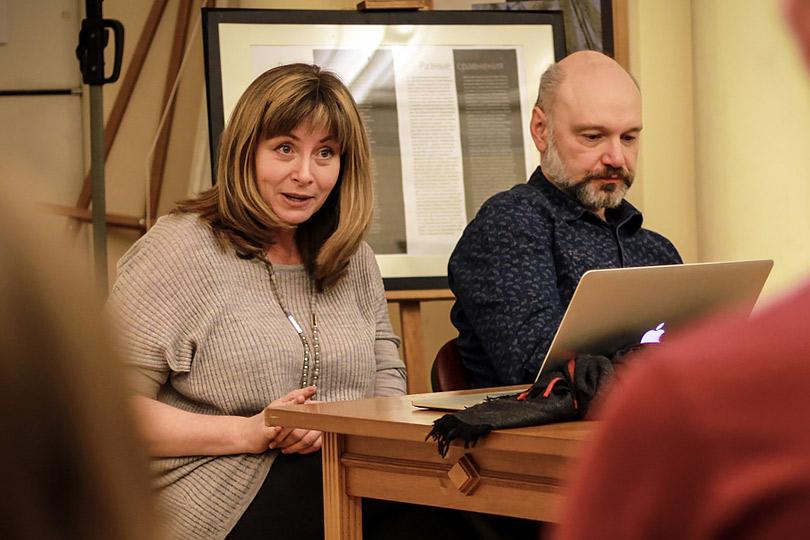 Александра Борисенко и Виктор Сонькин: «Художественный перевод: что такое хорошо и что такое плохо?» 30 ноября в 16:00