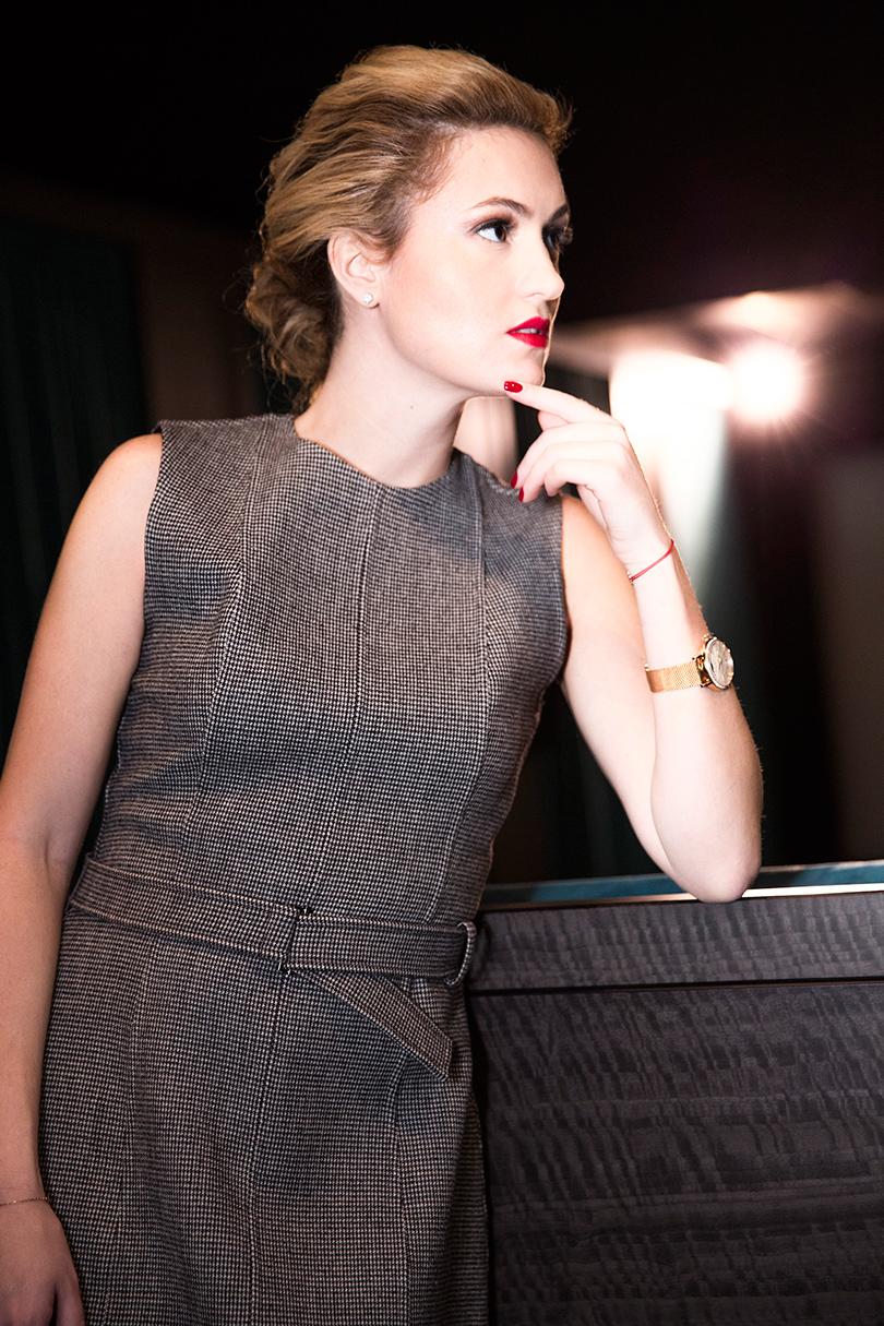 Woman in Power: Рената Пиотровски. НаРенате: платье LiLu, туфли Dior, часы IWC Portofino Automatic37 Moon Phase