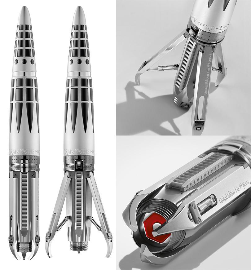Идея подарка: ручка-ракета «Астрограф» с золотым пером