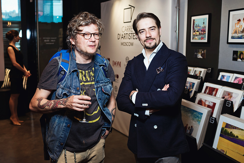 Art & More: на Петровке открылась галерея Carre d'artistes Moscow. Артем Акимов (Carre d'artistes Moscow)