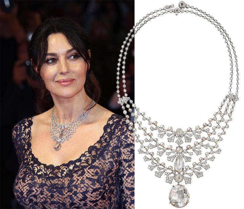 Часы & Караты: Моника Беллуччи выбирает Cartier