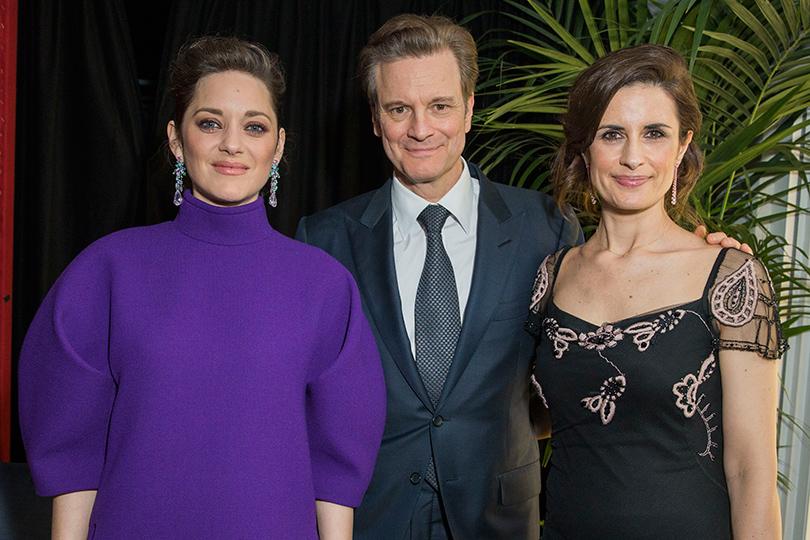Cannes 2016: джентльменский вечер Chopard и Annabel's. Марион Котийяр, Колин иЛивия Ферт