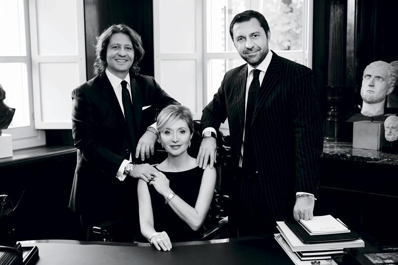 Гуидо, Сильвия и Джорджио Дамиани