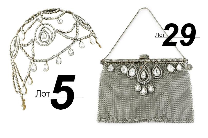 Сподиума— нааукцион: Sotheby's выставил наторги прототипы украшений споказов Dior. «Секреты Маты Хари» (лот 5)