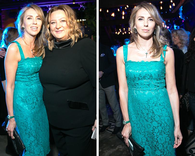 Вечер «100 самых стильных мужчин» по версии GQ: Светлана Бондарчук и Мария Федорова