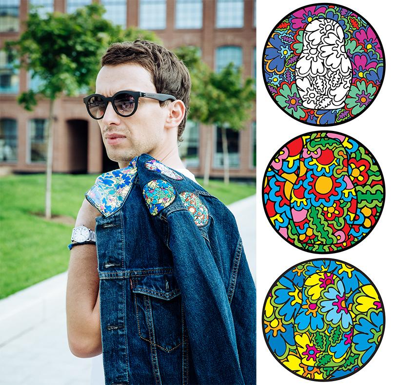Style Notes: Levi's впервые сделали проект сроссийским художником Максом Гошко-Даньковым