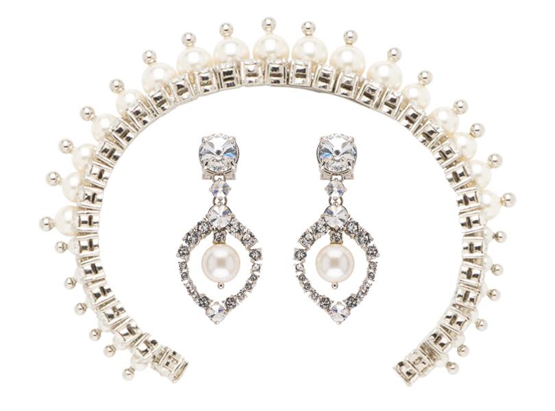 Style Notes: какую бижутерию выбрать этим летом? Новая коллекция бижутерии The Queens Jewel дизайнеров Miu Miu