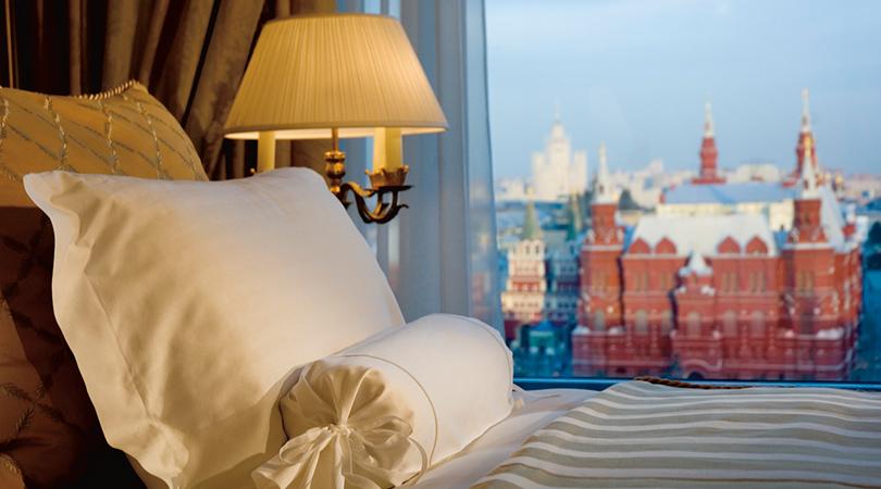 Новый год в отелях Москвы: «Ритц-Карлтон»