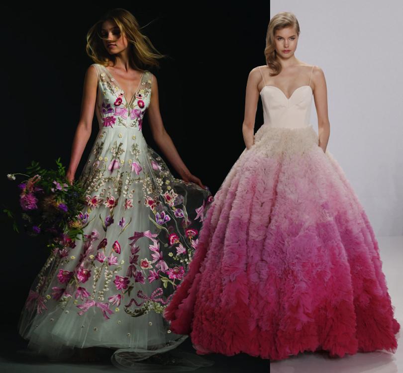 Wedding & More: 6 актуальных трендов с Недели свадебной моды в Нью-Йорке. Подвенечные платья Temperley London и Christian Siriano