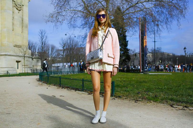 Звездные гости Недели моды в Париже, 2016: Кьяра Ферраньи