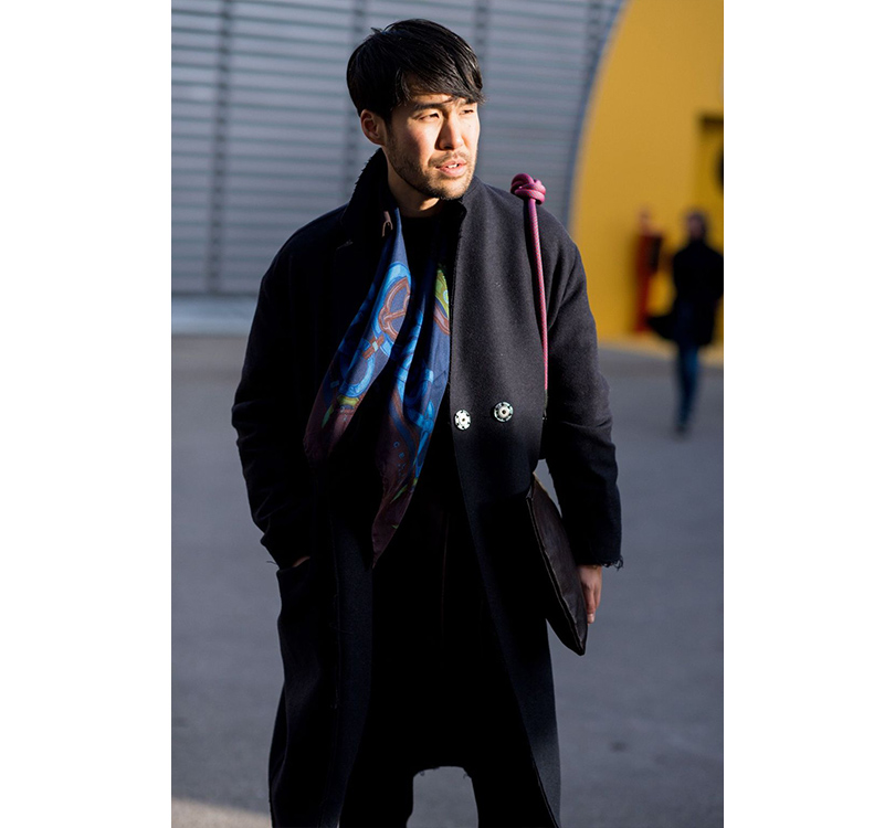 Men in Style: уличная мода на выставке Pitti Uomo. Блогер Тошиширо Ясутаке